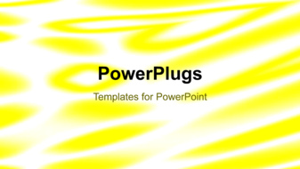PowerPoint Template - An organic background